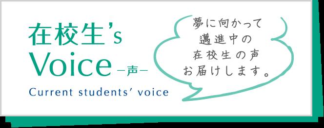 在校生's Voice -声-